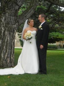 Travis & Katie get married